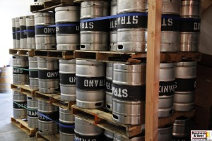 Kegs from Strand Brewing