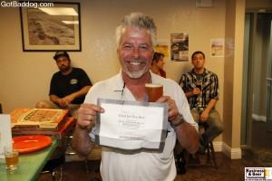 free beer winner