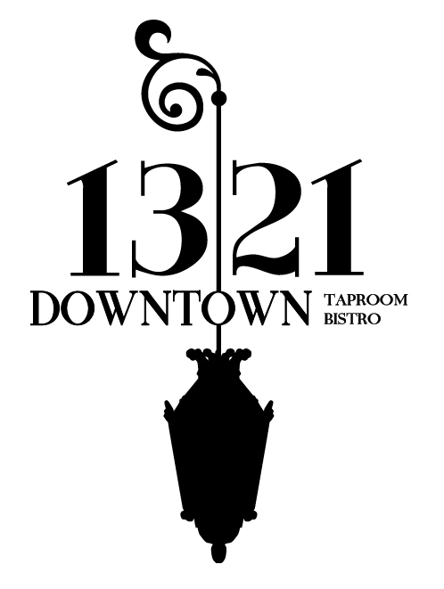 Logo for 1321 Downtown Taproom Bistro in Torrance California