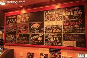 beer tap list