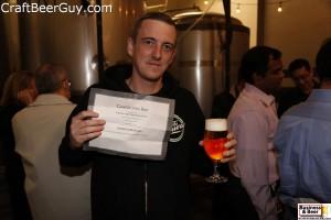 Brett wins free beer