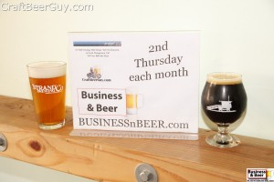 Set up Business & Beer at Strand Brewing