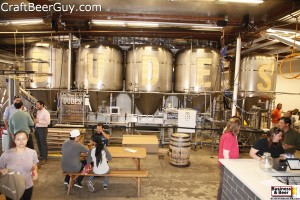 The Dude's production brewery