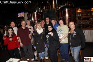 Nice group at May Business & Beer